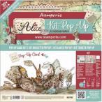 スタンペリア Stamperia ポップアップキット Pop up kit 不思議の国のアリス アリス ティーパーティー Alice tea party SBPOP01