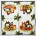 1枚バラ売りペーパーナプキン Villeroy&Boch ビレロイ&ボッホ ドイツ クリスマスプレゼント  802200 デコパージュ ドリパージュ