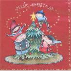 ZARA HOME ザラホーム スペイン ペーパーナプキン 妖精クリスマス柄デザイン バラ売り2枚1セット zara48234022999992 デコパージュ ドリパージュ