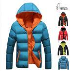 ダウンジャケットジャケット メンズ 中綿ジャケットブルゾン アウター 暖かい 防寒着m-003