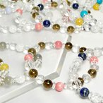 パワーストーン ブレスレット 選べる16種類 スモーキークォーツ 水晶 天然石 母の日