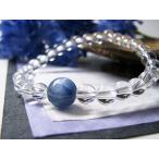 パワーストーン ブレスレット カイヤナイト 水晶 天然石