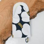マリメッコ オーブンミトン ピエニウニッコ 日本限定 ダークブルー×ライトグレー×ナチュラルホワイト 39 marimekko PIENI UNIKKO 69908