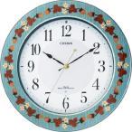 掛け時計 シチズン 電波掛け時計 プリュマージュM468 8MY468-005