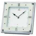シンプル&モダンデザイン セイコー置時計エンブレム SEIKO置き時計 HW586W