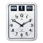 TWEMCOカレンダー電波掛け時計 RC-12A ホワイト