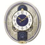 からくり時計 壁掛け時計 ウエーブシンフォニー RE582G セイコー SEIKO電波時計 送料無料 ギフト お洒落 名入れ 掛け時計