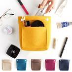 ショッピングバッグ バッグインバッグ トートバッグ invite.L COMPACT FELT BAG IN BAG コンパクト フェルトバッグインバッグ 小さい 収納バッグ ポーチ 毛玉防止 インナーバッグ
