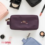 2nul For Your Make up Pouch メイクポーチ 大容量 化粧ポーチ コスメポーチ たっぷり 収納 旅行用品 トラベル用品 旅先 外出 かわいい シンプル 機能的