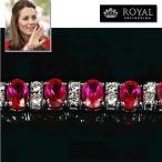 ショッピングブレスレット ブレスレット ルビー レッド テニス ブレスレット|キャサリン妃 ロイヤルコレクション