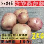 ジャガイモ さやあかね 2kg 特別栽培農産物 オーガニック 有機 無農薬  西日本 岡山県産 旬野菜