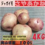 ジャガイモ さやあかね 4kg 特別栽培農産物 オーガニック 有機 無農薬  西日本 岡山県産 旬野菜