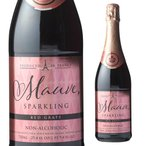 6%還元 3/26〜27限定 モーヴ スパークリング レッド グレープジュース 750ml ノンアルコールワイン シャンパン アルコールフリー Alc.0% 長S