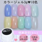 フェアリーネイル カラージェル10色セット - ゆめかわ - メール便送料無料