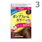 ビゲン ポンプフォームカラー つめかえ用 3 明るいライトブラウン / 白髪染め ポンプ別売り