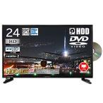 HDD搭載 24V型 ハイビジョン 液晶テレビ 500GB 録画機能内蔵 [500GBハードディスクドライブ搭載] HDMI端子2系統 PC入力