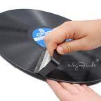 MayRecords カーボンブラシ LP用静電気除去ブラシ レコードクリーナー クリーニングブラシ DVDクリーナー用品