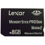 LEXAR レキサー PSP メモリースティック 8GB 中古