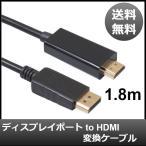 ディスプレイポート displayport to HDMI 変換 ケーブル