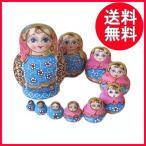 マトリョーシカ人形 ロシア 10体組 木製 安い 北欧雑貨
