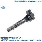 イグニッションコイル フォルクスワーゲン ルポ HELLA製 LUPO 6XBBY ダイレクトコイル 036905715F
