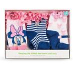 ディズニー ミニーマウス ベビーソックスセット(3足) ギフトボックス 出産祝い 新生児 赤ちゃん USディズニー正規品 (6-12か月) [並行輸入品]