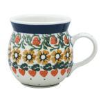 マグカップ0.25L No.858 おしゃれなポーランド食器Ceramika Artystyczna ( セラミカ / ツェラミカ )