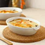 オーバルミニグラタン皿