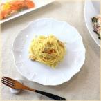 キングプレート 24cm 丸プレート 中皿 スイーツ皿 カフェ食器 フレンチ イタリアン リゾート食器 白い食器 洋食器 国産 美濃焼