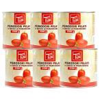 マンマ・ティーナ イタリア産 トマト ホール缶2.5kg×6缶[常温]便でお届け【3〜4営業日以内に出荷】【送料無料】
