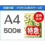 A4クリアファイル印刷【特急便】500枚