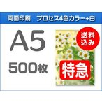 A5クリアファイル印刷【特急便】500枚