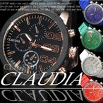 55mm ビッグフェイス クロノグラフ ラバーバンド メンズサイズ 腕時計  ニクソン好きに