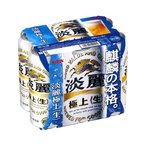 ショッピング500ml キリン 淡麗 極上 500ml×6缶パック
