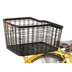 OGK技研 樹脂製なのに割れにくい 大容量33L 自転車用リアバスケット RB-052 送料無料(一部地域除く)