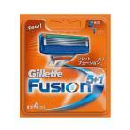 (P&G)(Gillette)ジレット フュージョン5+1 5枚刃替え刃 4枚入り(男性用髭剃り)(男性用カミソリ)