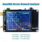 DIY 業務 産業用品 アンテナネットワークアナライザ NanoVNA 2.8インチ LCD デジタルディスプレイ タッチスクリーン