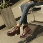 ショートブーツ レディース 婦人靴 チャンキー ヒール4.5cm