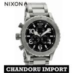 ショッピングnixon ニクソン NIXON 腕時計 メンズ A037-000 クロノグラフ A037000