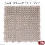 人工芝 若草ユニットE-V グレー 1枚 関東当日便