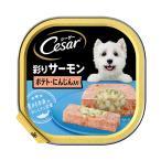 シーザー あじわいサーモン風味 ポテトとにんじん入り 100g ドッグフード シーザー 関東当日便