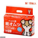 ペットライブラリー inuneru ペット用 紙オムツ M 18枚 おもらし ペット 関東当日便