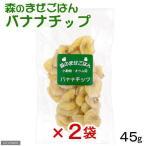 ペットプロ 森のまぜごはん バナナチップ 45g 2袋入り 関東当日便