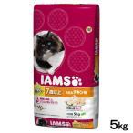 アウトレット品 数量限定 毛玉ケア アイムス シニア猫用 7歳以上 うまみチキン味 5kg 正規品 キャットフード 高齢猫用 訳あり 関東当日便