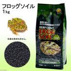 スドー フロッグソイル 1kg 爬虫類 底床 敷砂(両生類用)
