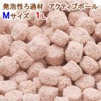 発泡性ろ過材 アクティブボール Mサイズ 1L 関東当日便