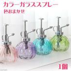 カラーガラススプレー(色おまかせ)(1個) ガーデニング 水やり 関東当日便