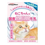 キャティーマン ねこちゃんの国産低脂肪牛乳 200ml 24本入り 猫 ミルク