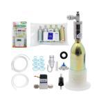 CO2フルセット チャームオリジナルコンパクトレギュレーターBセットDX(6mm対応電磁弁&タイマー付き) 沖縄別途送料