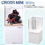 ニッソー クロスミニ CROSS MINI ホワイト オーバーフロー水槽 関東当日便